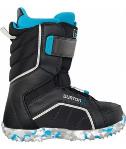Burton Zipline Snowboard Boots Black/Gray/Blue