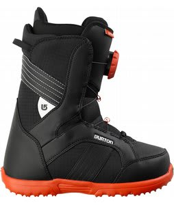 Burton Zipline Snowboard Boots Black/White