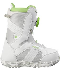 Burton Zipline Snowboard Boots White/Gray