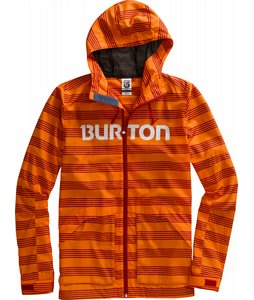 Burton Dover Jacket Carrot Home Stripe