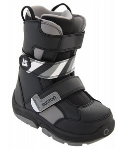 Burton Grom Snowboard Boots Black/Grey