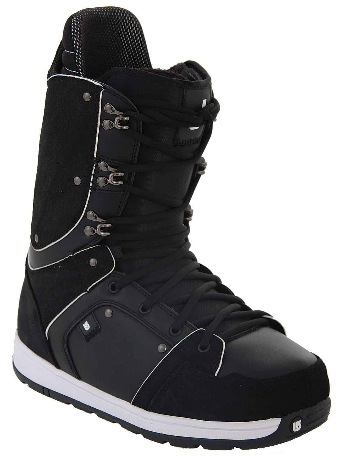 Shop for Burton Jeremy Jones Snowboard Boots Black/White - Kid's