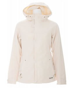 Burton Society Snowboard Jacket Antique Ivory