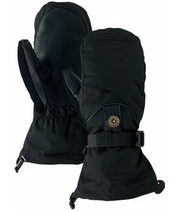 Burton Baker Mittens True Black