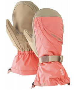 Burton Gore Mittens Petal Pink
