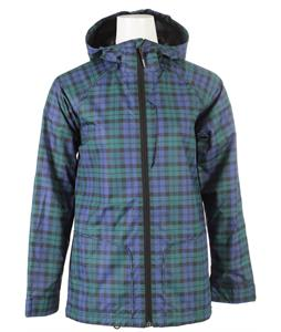 Burton 2L Anthem Jacket Black Watch Tartan Plaid