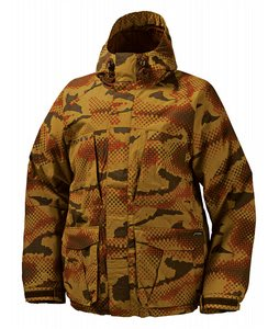 Burton 3/2 Snowboard Jacket Glamocamo Sahara