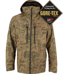 Burton AK 2L Swash Gore-Tex Snowboard Jacket Cloud Camo