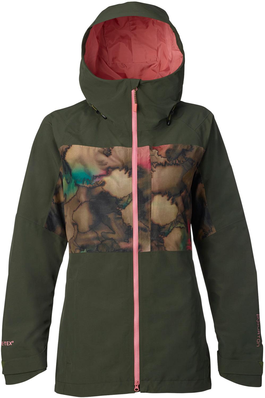 Womens Camo Snowboard Jacket