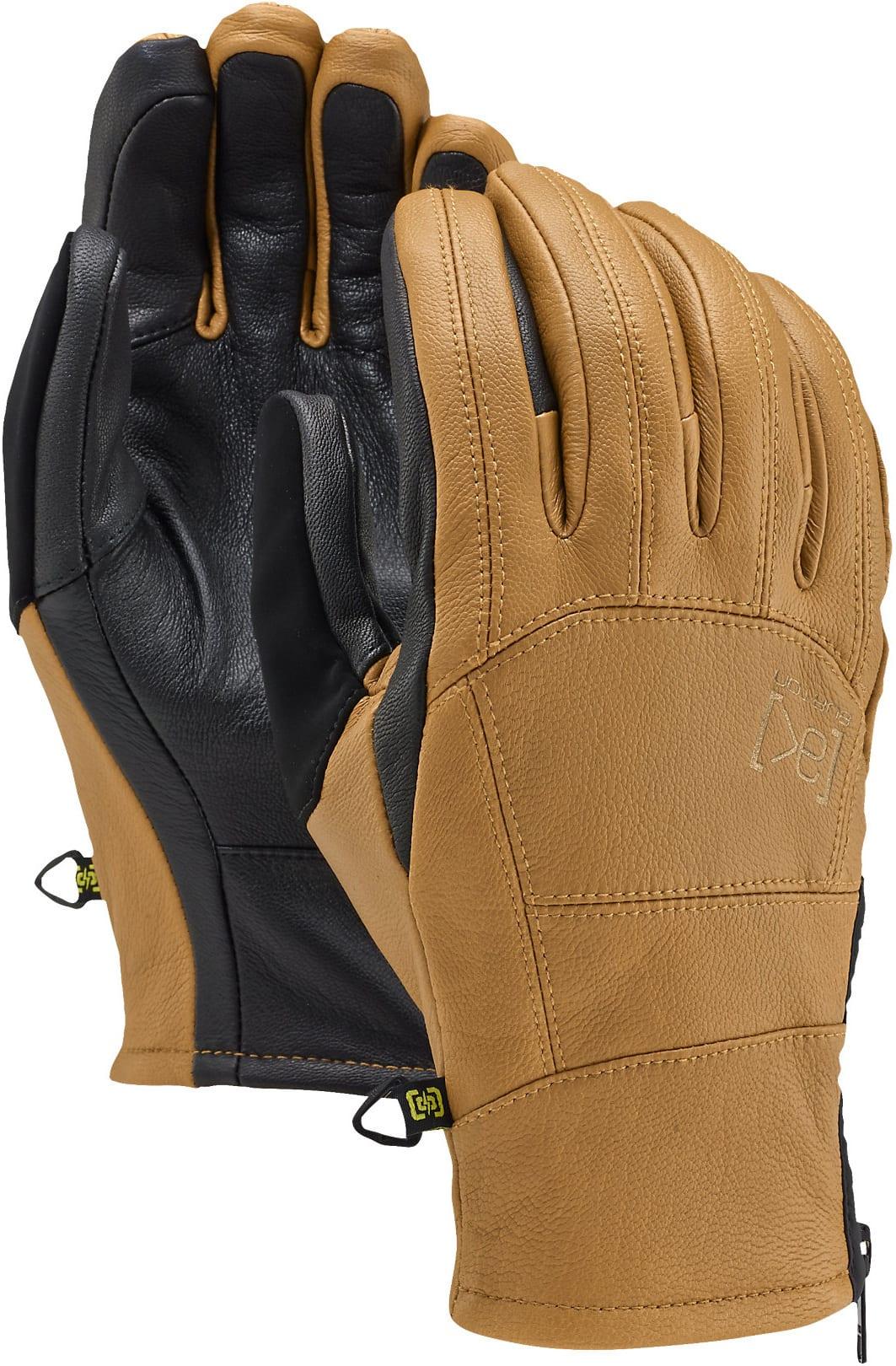 Mens ski gloves xl - Burton Ak Leather Tech Gloves