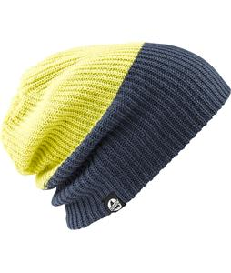Burton All Day Long Beanie Dark Denim/Green Sheen