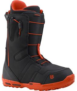 Burton Ambush Snowboard Boots Black/Red