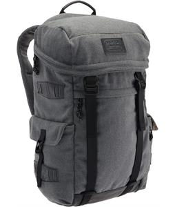 Burton Annex Backpack Gray Wool Leather 28L