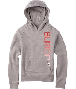 Burton Antidote Pullover Hoodie Gray Heather