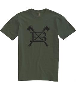 Burton Axed T-Shirt Heather Olive
