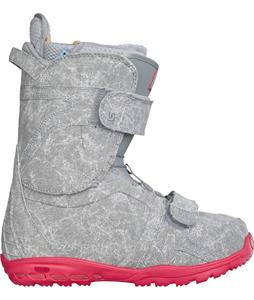 Burton Axel Snowboard Boots Grey/Pink