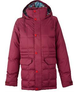 Burton Ayers Down Snowboard Jacket Sangria