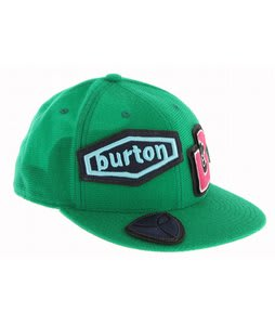Burton Badge Of Honor Flexfit Hat Irish Green