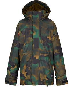 Burton Barnyard Snowboard Jacket Hickory Pop Camo