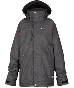 Burton Barnyard Snowboard Jacket True Black Denim
