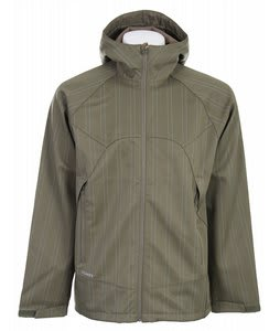 Burton Beacon Softshell Jacket Trench Green