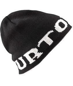 Burton Billboard Heritage Beanie True Black/Stout White