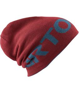 Burton Billboard Slouch Beanie Crimson/Team Blue