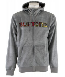 Burton Bonded Hoodie Heather Grey
