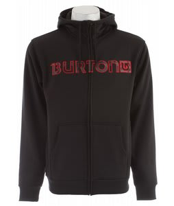Burton Bonded Hoodie True Black/Iron Gray Vandyke