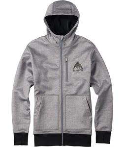 Burton Bonded Hoodie Monument Heather