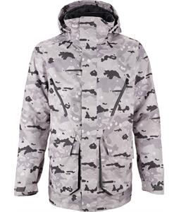 Burton Breach Snowboard Jacket Snow Birch Camo Snowboard Jacket