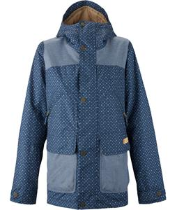 Burton Brighton Snowboard Jacket Submarine Banditsy Dot/Denim