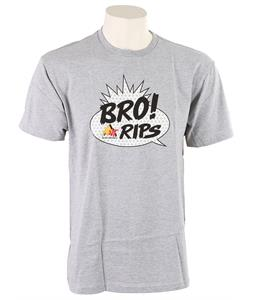 Burton Bro T-Shirt Heather Grey