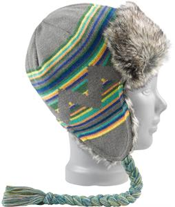 Burton Burn It Down Trapper Beanie Rabbit Heather