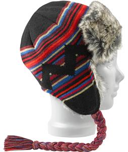 Burton Burn It Down Trapper Beanie True Black