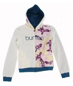 Burton Butterlove Hoodie Bright White