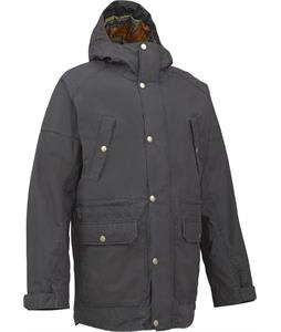 Burton Cambridge Washed Snowboard Jacket True Black Washed LTD