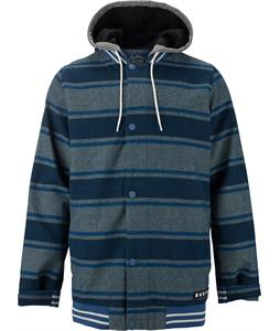 Burton Campus Snowboard Jacket Drug Rug Stripe