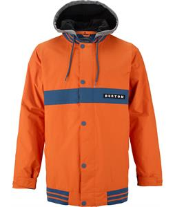 Burton Campus Snowboard Jacket Jersey Tan/Team Blue