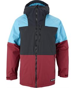 Burton Carbide Snowboard Jacket Crimson/True Black/Bermuda