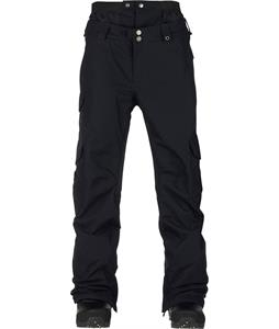 Burton Cargo Mid Fit Snowboard Pants True Black