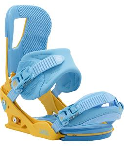 Burton Cartel Re:Flex Snowboard Bindings Yellow/Blue