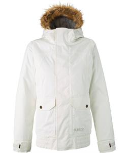 Burton Cassidy Snowboard Jacket Stout White