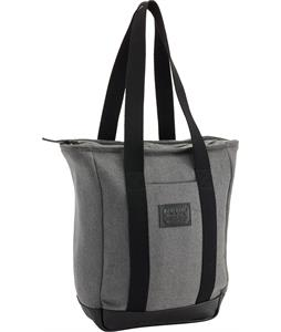 Burton Catherine Tote Gray Wool Leather 15L