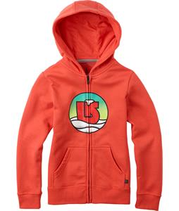 Burton Circle Full Zip Hoodie Red Clay