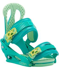 Burton Citizen Re:Flex Snowboard Bindings Teal