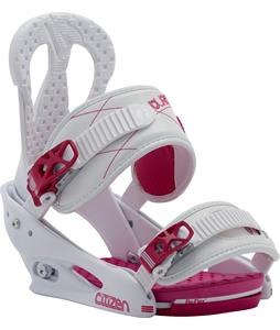 Burton Citizen Re:Flex Snowboard Bindings White