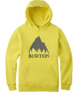 Burton Classic Mountain Pullover Hoodie Green Sheen