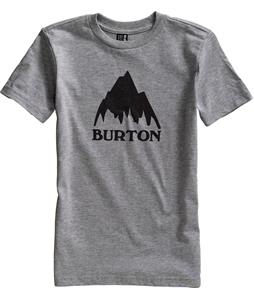 Burton Classic Mountain T-Shirt Heather Gray
