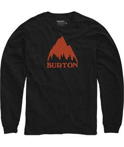 Burton Classic Mountain L/S T-Shirt True Black Heather